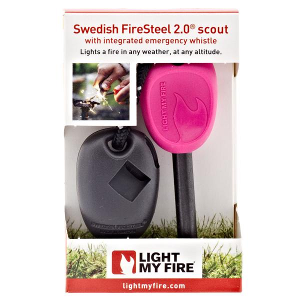 Light my fire krzesiwo fire steel scout 2,0 różowe